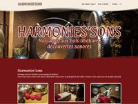 Harmonies'sons<br />Massage aux bols