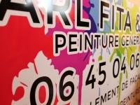 Panneau FITA, peinture générale céret