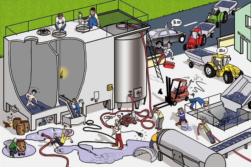 Mutualité Sociale Agricole : prévention vinification